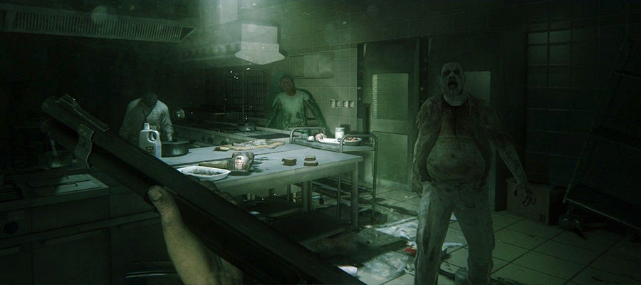 Horror game #6: ZombiU.