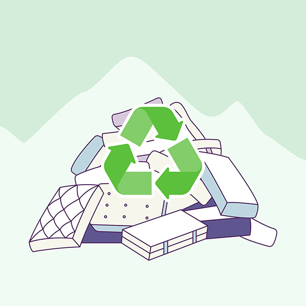 How to recycle a mattress?