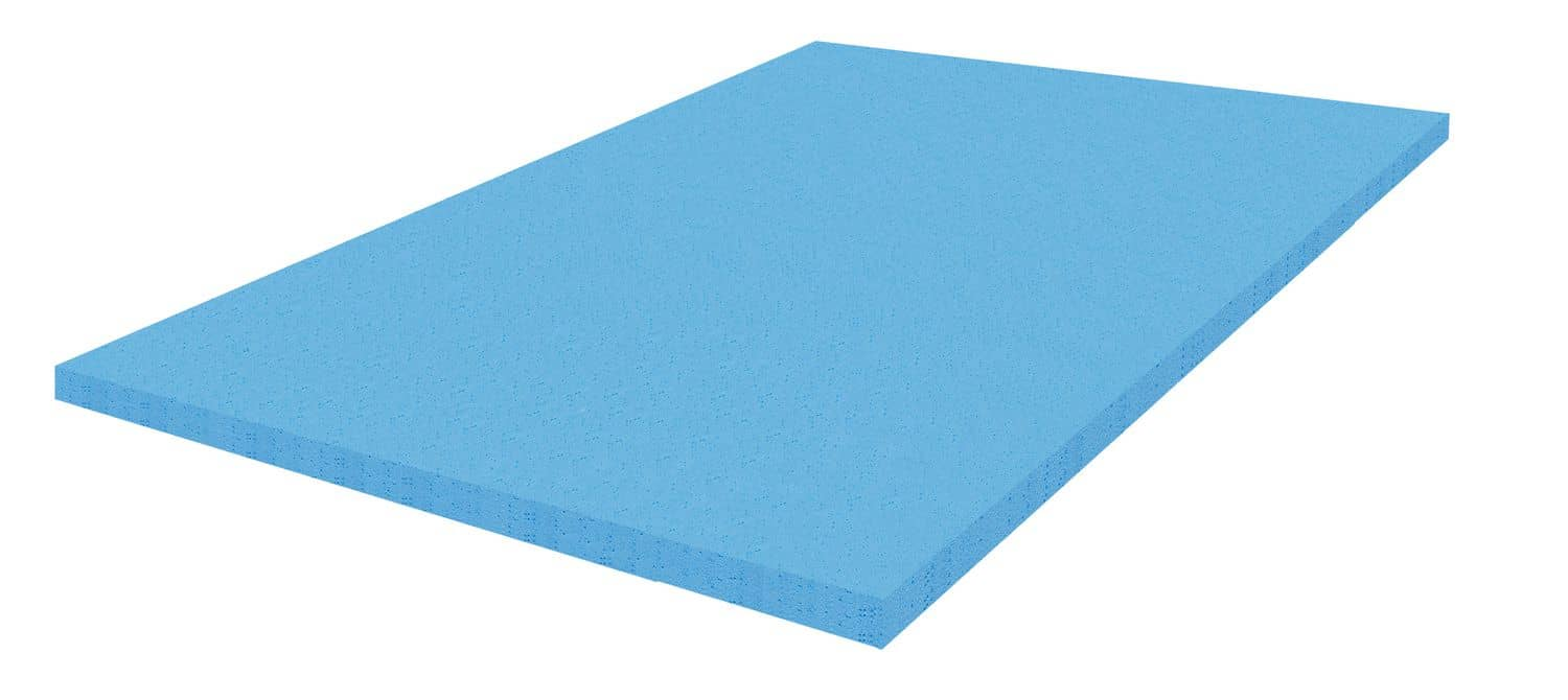 3D rendering of a the memory foam of a mattress topper