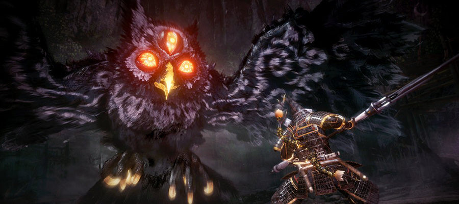 Screenshot from the game Nioh 2.