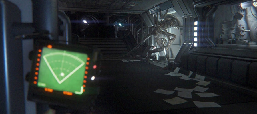 Scary game #1: Alien Isolation.