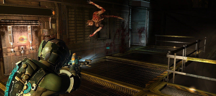 Scary game #3: Dead Space 1 & 2.