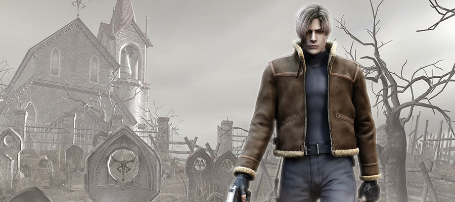 Scary game #5: Resident Evil 4.