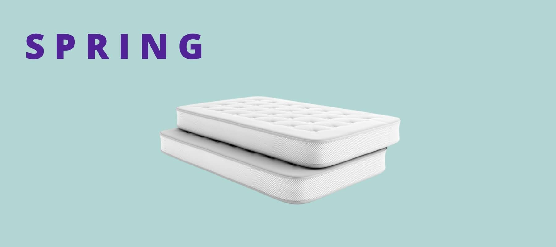 Spring mattresses are not necessarily the best option depending on your body.