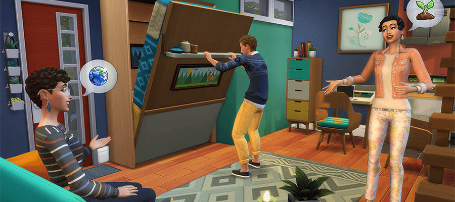 The Sims 4 is a great video game to relax to.