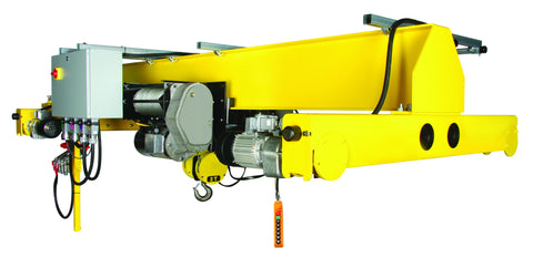 AH10SGTR40 - 10 Ton - Single Girder Top Running Crane Kit, Max Span 40 ft., Lift: 25 ft.