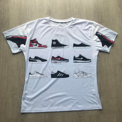 Top 10 Classic Sneakers T-Shirt