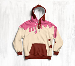 Vanilla Strawberry Chocolate Hoodie