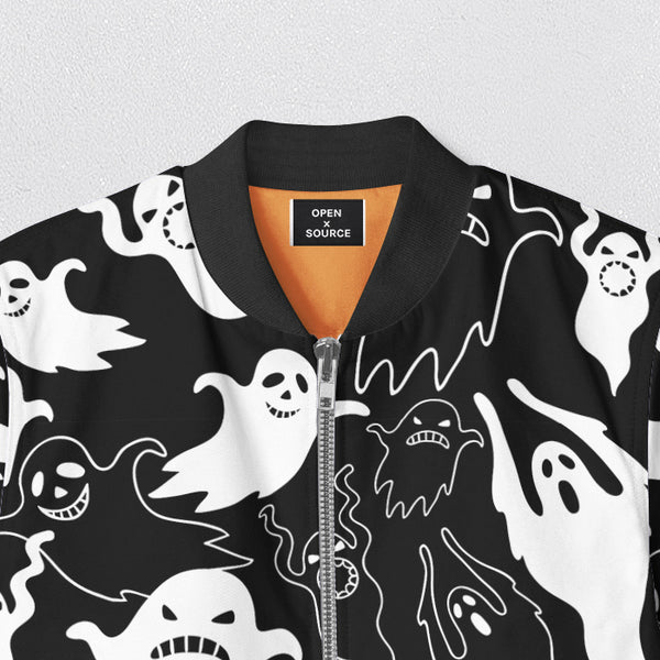 Ghost Bomber Jacket