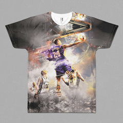 Kobe Bryant Fire Dunk T-Shirt