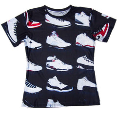 Jordan Classic Shoes Sublimation Shirt