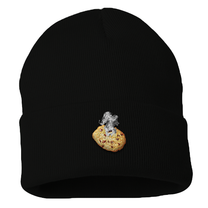 Smoking Cookie Beanie