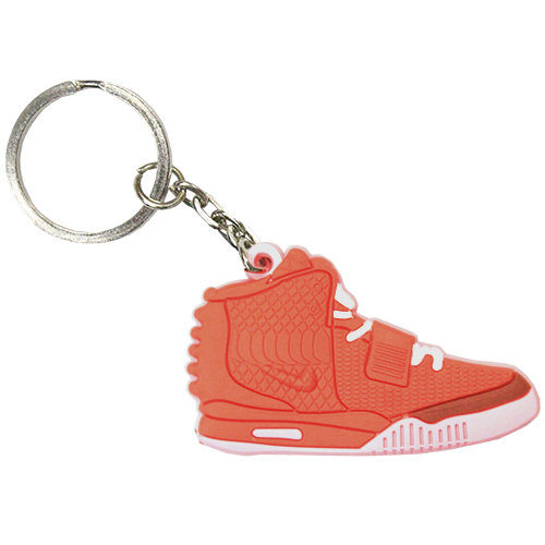 N YZY Red October Keychain