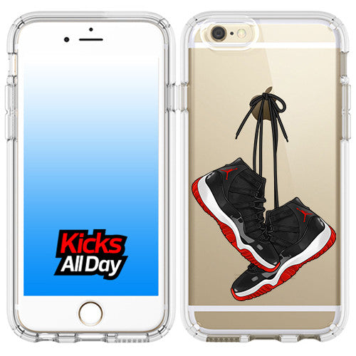 AJ 11 BRED iPhone Case
