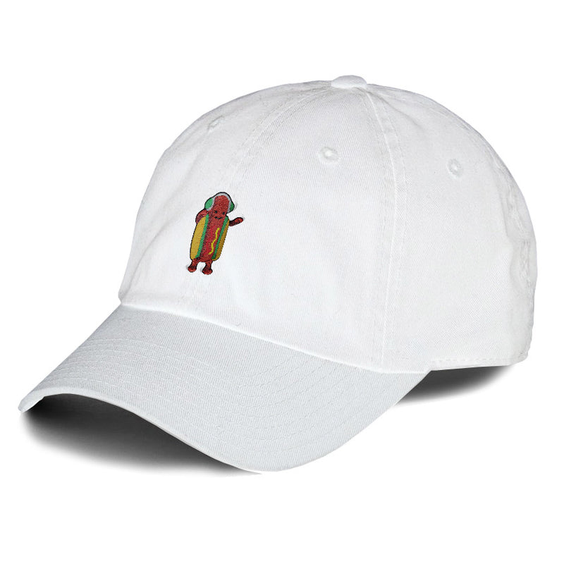 Dancing Hotdog Dad Hat