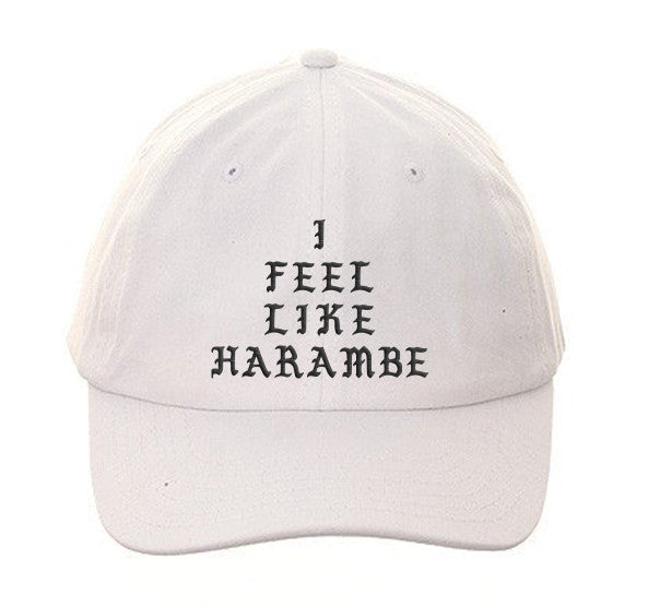 I Feel Like HARAMBE Dad Hat