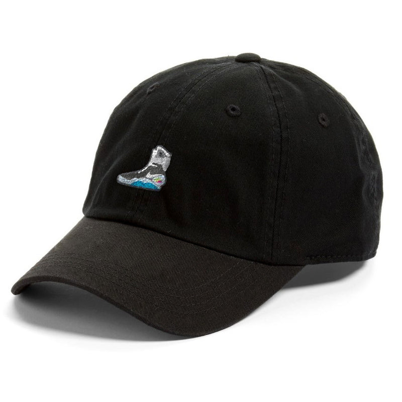 nike air mag back to the future black dad hat