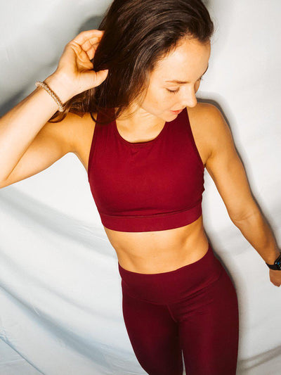 Micah Sports Bra - Mahogany-Layers-[option4]-[option5]-[option6]-Shop-Womens-Boutique-Store