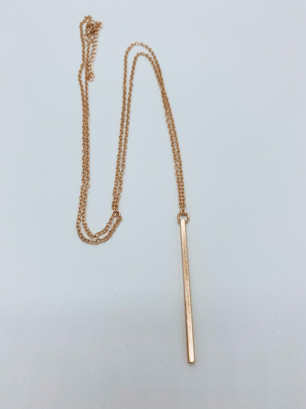 Long Bar Necklace-Accessories-Gold-[option4]-[option5]-[option6]-Shop-Womens-Boutique-Store
