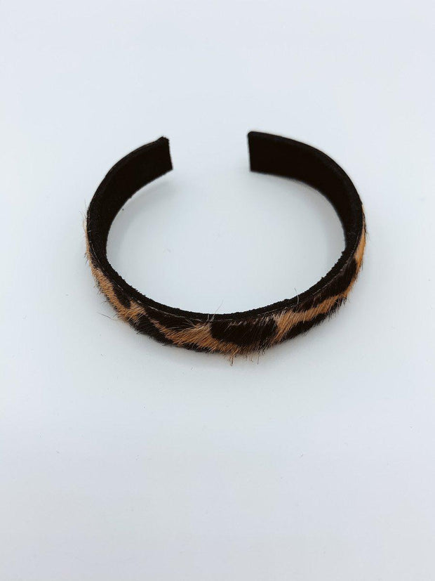 Cheetah Print Cuff Bracelet-Accessories-[option4]-[option5]-[option6]-Shop-Womens-Boutique-Store