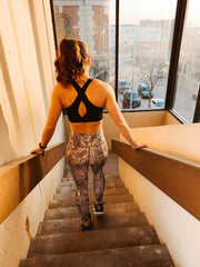 Andia Tech Leggings - Snake-Bottoms-[option4]-[option5]-[option6]-Shop-Womens-Boutique-Store