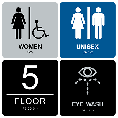 Braille ADA Signs