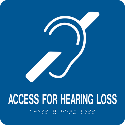 Access for Hearing Loss large D