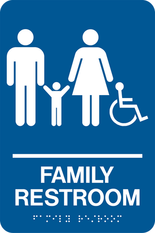 Accessible Family Restroom 23D