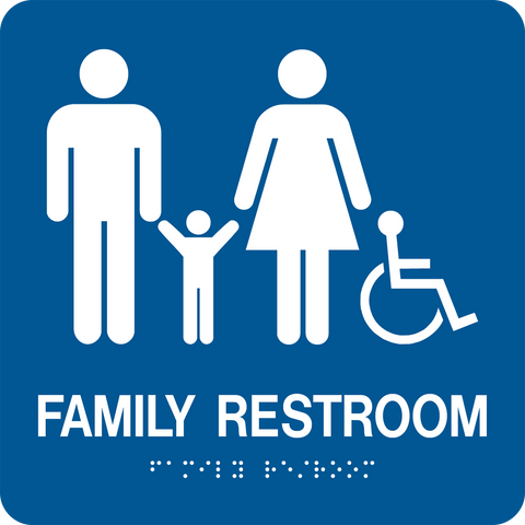 Accessible Family Restroom large D