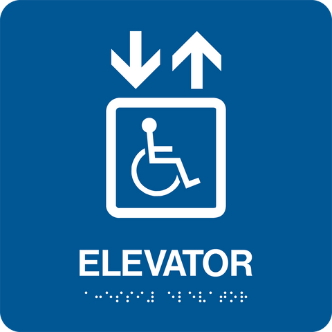 Accessible Elevator large D