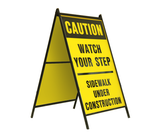 Caution Watch Your Step 24x36