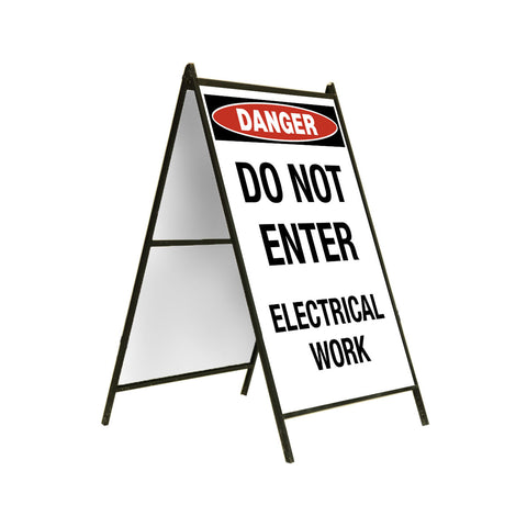 Danger Electrical Work 24x36