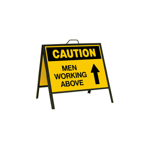 Caution Men Working Above 24x18