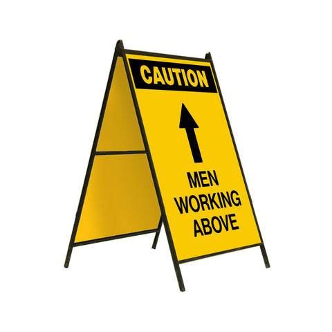 Caution Men Working Above 24x36