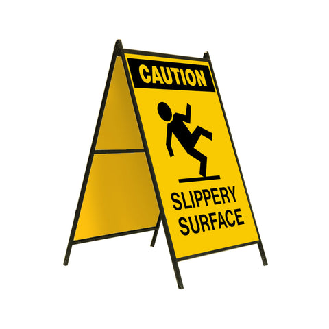 Caution Slippery Surface 24x36