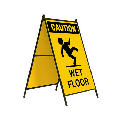 Caution Wet Floor 24x36