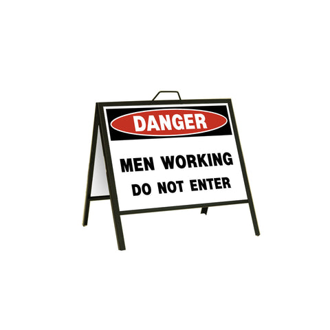 Danger Men Working Do Not Enter 24x18