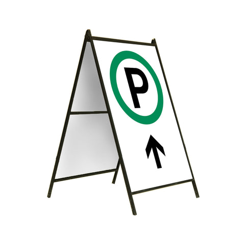 Parking Ahead 24x36