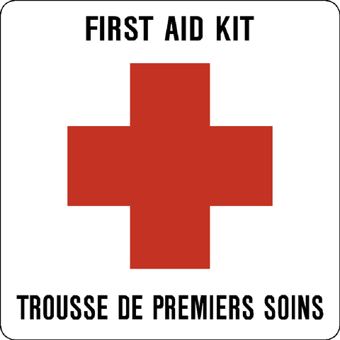 First Aid Kit Bilingual