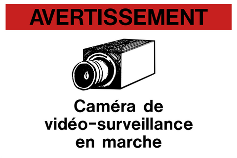 Video Surveillance Camera Bilingual