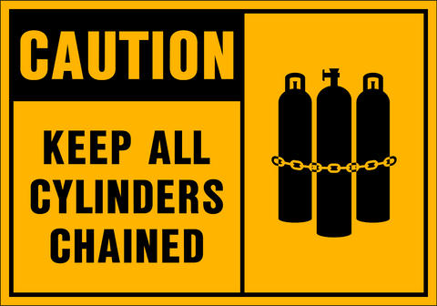 Caution - Cylinders B