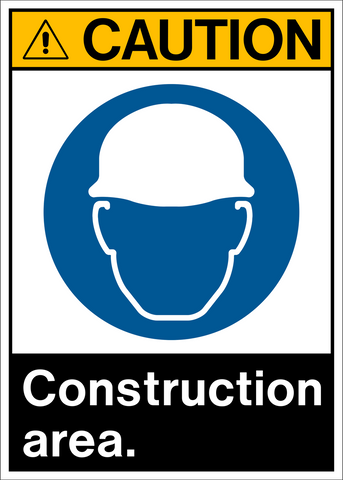 Caution - Construction Area