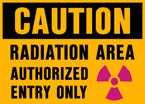 Caution - Radiation Area