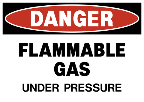 Danger - Flammable Gas A