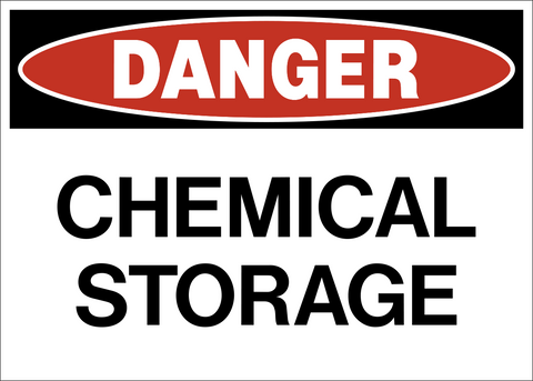 Danger - Chemical Storage