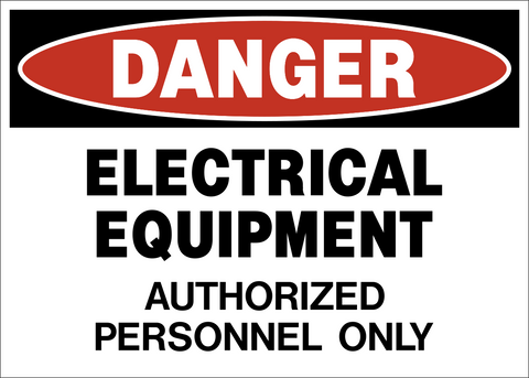 Danger - Electrical Equipment