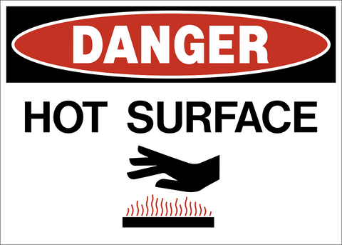 Danger - Hot Surface