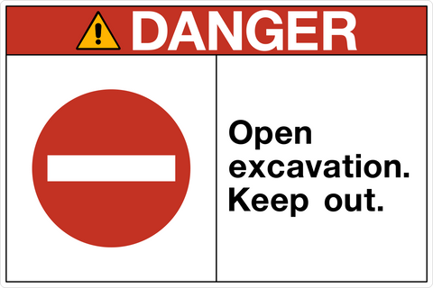 Danger Tagged Quot Filter By Keyword Open Excavation