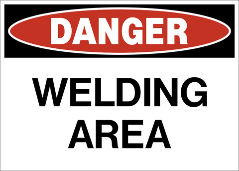 Danger - Welding Area
