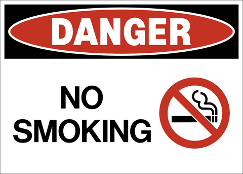 Danger - No Smoking A